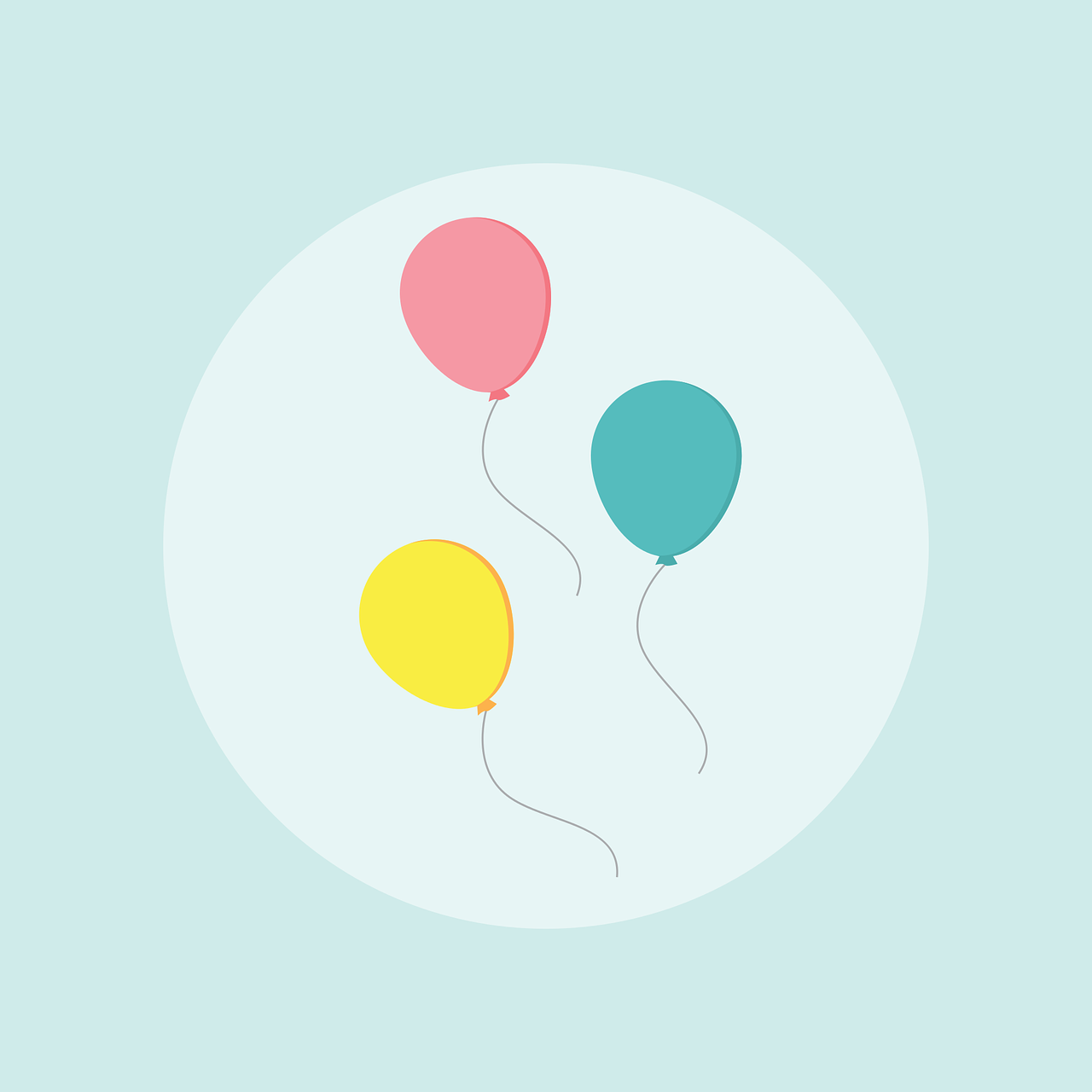 balloon, birthday, celebration